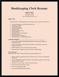 Sample Resume For Bookkeeper Accountant by Bookkeeper Resume Sample Good Bookkeeper Resume Bookkeeper Resume