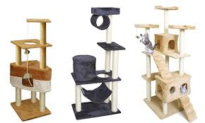 cat tree condo furniture with scratch posts groupon