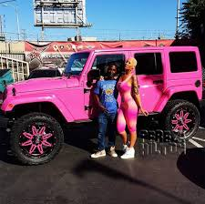 blac chyna jeep it s going to be hard to miss amber rose s new ride on the streets