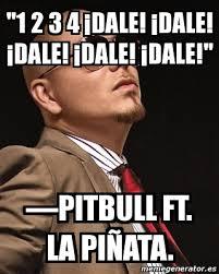 Pitbull Meme Dale - meme personalizado 1 2 3 4 dale dale dale dale dale