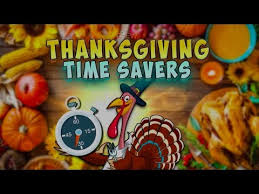 thanksgiving time savers from the chew