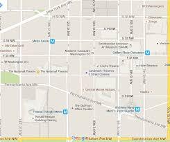 Map Metro Dc by Penn Quarter Map Downtown Washington Dc
