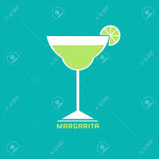 martini cocktail cartoon drinks concept margarita flat design icon martini cocktail