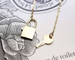 lock necklace with key images Key and lock necklace necklace jpg
