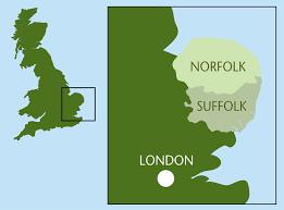 map of east uk walking holidays walking tours east anglia uk