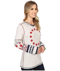 Double D Ranch Clothing Double D Ranchwear By The Star Spangled Light Tee In White Lyst