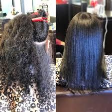 thick natural hair wash and set by yoneisy yelp