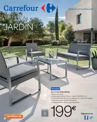muebles de jardin carrefour carrefour jardín by andré gonçalves issuu