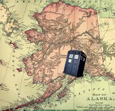 Homer Alaska Map by Whose Tardis Is This Doctor Who U0027s Tardis Found In Alaska