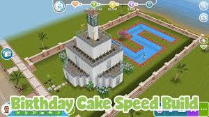 wedding cake sims freeplay the sims freeplay birthday cake speed build