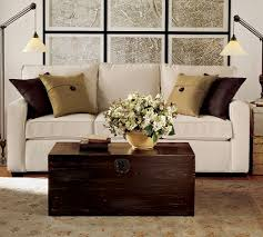 pottery barn sofa which will make your living room extremely