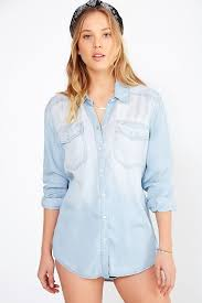 light blue button down shirt women s drapey chambray button down shirt denim shirt chambray and blue denim
