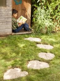 how to make a decorative garden path hgtv