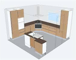plan cuisine ilot central plan de cuisine en l avec ilot central rayonnage cantilever