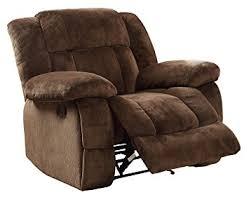 Recliner Chair Homelegance 9636 1 Laurelton Textured Plush Microfiber