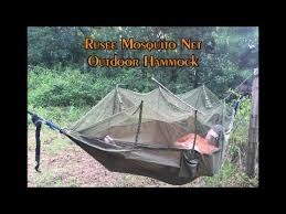 rusee camping hammock with mosquito net youtube