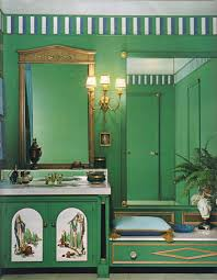 16 mod interior designs from 1968 interiors gold bathroom and