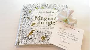 flip through magical jungle coloring book by johanna basford