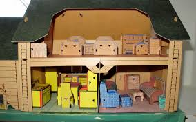 built rite cardboard houses by susan hale dolls u0027 houses past