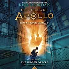 the trials of apollo book one the hidden oracle audiobook rick