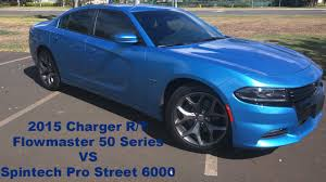 dodge charger 6000 2015 charger r t flowmaster 50 series vs spintech pro