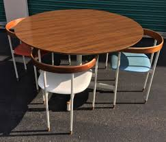 heywood wakefield furniture ebay rare prototype mid century heywood wakefield table chairs 5pc set multi color