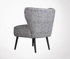 fauteuil crapaud black fabric design tub chair exclusivity