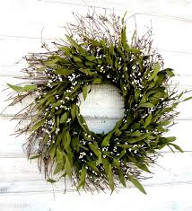 bay leaf wreath mini bay leaf wreath fall door wreath winter wreath wall