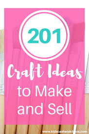 easy craft ideas to make and sell kids cash and chaos