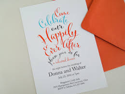 invited happily after invitations