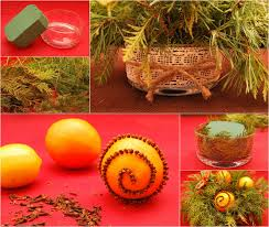 homemade natural christmas decorations uk decorating ideas serg