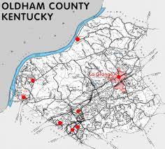 map of oldham oldham county kentucky kentucky atlas and gazetteer