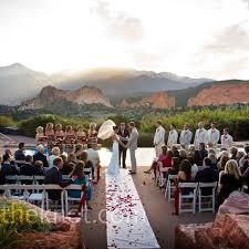 Weddings In Colorado An Outdoor Wedding In Colorado Springs Co