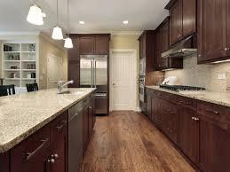 kitchen backsplash with cabinets and light countertops santa cecilia light granite with cabinets backsplash ideas