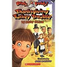 thanksgiving chapter books for glitter on a dime