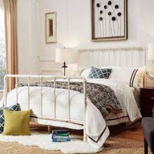 white queen bed frame frame decorations