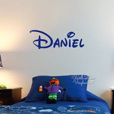 custom boys name wall sticker baby nursery boys name wall decal