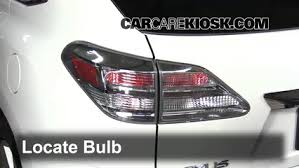 why do police touch the tail light tail light change 2010 2015 lexus rx350 2010 lexus rx350 3 5l v6