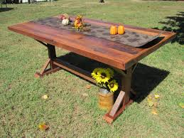 Country Kitchen Tables by 6 U0027 Farmhouse Kitchen Table Solid Oak Table Solid Oak Barn Wood