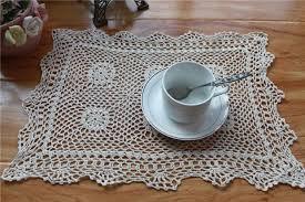 napperon de cuisine chaude carré coton napperon tasse coaster pot tasse titulaire