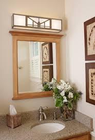 Mission Bathroom Vanity by Mission Style Bathroom Vanity Lighting Interiordesignew Com