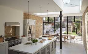 kitchen diner extension ideas bright kitchen diner extension real homes