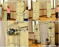 wedding backdrop doors wedding backdrop tutorial u create