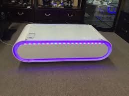 Coffee Tables With Led Lights Contemporary White High Gloss Coffee Table With Colourful Led