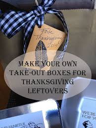 make your own thanksgiving take out boxes hometalk