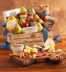 food baskets to send online gift baskets fruit and food gifts wine clubs harry david
