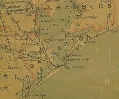 galveston island map galveston historic galveston