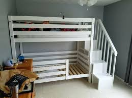 Bunk Bed Plans With Stairs Bunk Bed With Stairs Ideas Bunk Beds With Stairs And Storage