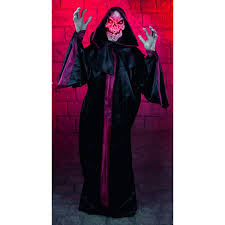 grim reaper halloween animatronic mad about horror