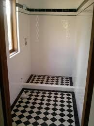 Black And White Checkered Tile Bathroom Bathroom Floor Tiles Black And White Descargas Mundiales Com